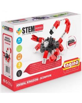 Конструктор Engino STEM HEROES: Царство животных: скорпион - KDS SH12