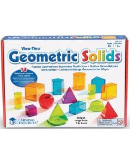 Набор объемных геометрических фигур, 14 шт Learning Resources LER4331 - KDS LER4331