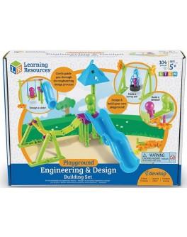 Игровой STEM-набор Конструктор Двор Learning Resources - TFK 0035