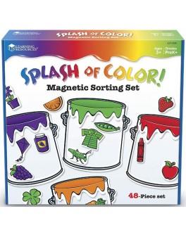 Магнитное пособие Цветные брызги Learning Resources - TFK цветные брызги