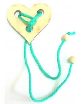Головоломка веревочная Сердце - kgol сердце