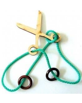 Головоломка веревочная Ножницы - kgol ножницы