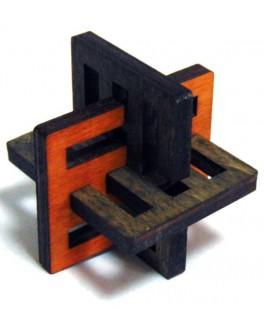 3D-головоломка деревянная Крест Акиямы - kgol 0309