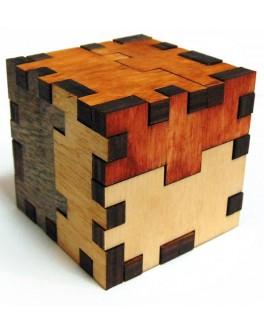 3D-головоломка деревянная Куб-мучитель - kgol 0305