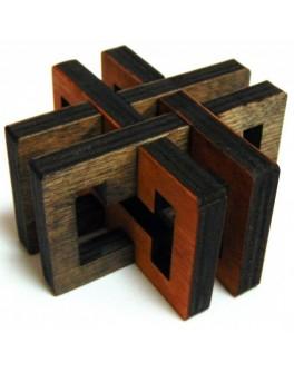 3D-головоломка деревянная Перекресток - kgol 0306