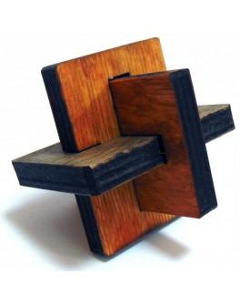 3D-головоломка деревянная Узелок - kgol 0302
