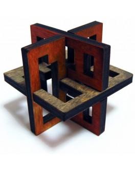 3D-головоломка деревянная Латтис 3 - kgol 0310