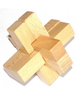 Головоломка деревянная Крест Макарова
