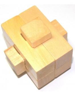 Деревянная головоломка Крест асимметричный - kgol 146