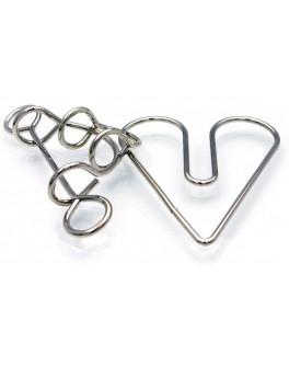 Головоломка металлическая Сердце в плену