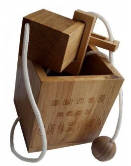 Головоломка деревянная Выпей, если сможешь КрутьВерть
