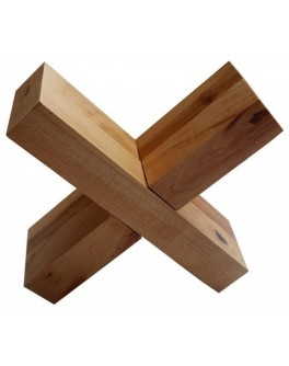 Головоломка деревянная Крест-вертушка КрутьВерть
