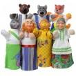 Домашний кукольный театр Сказка Колобок - AlB B065
