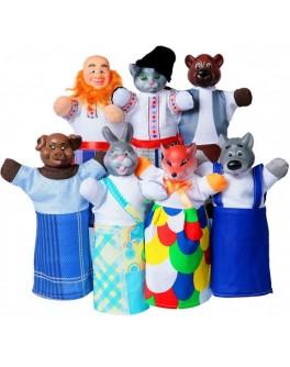 Домашний кукольный театр Сказка Пан Коцький - alb В164