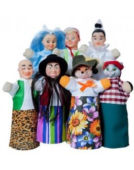 Домашний кукольный театр Сказка Буратино