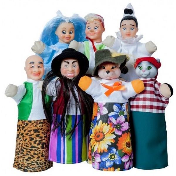 Домашний кукольный театр Сказка Буратино - AlB В182