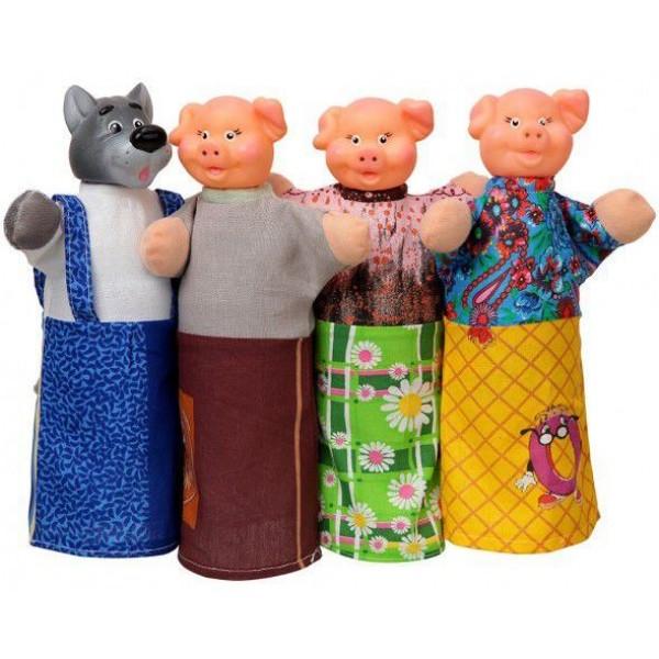 фото Домашний кукольный театр Сказка Три поросёнка - alb B066