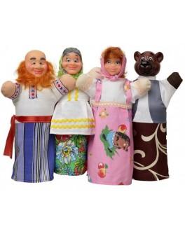 Домашний кукольный театр Сказка Маша и Медведь - alb В068
