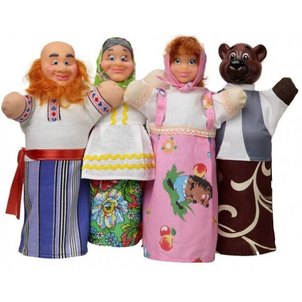 фото Домашний кукольный театр Сказка Маша и Медведь - alb В068
