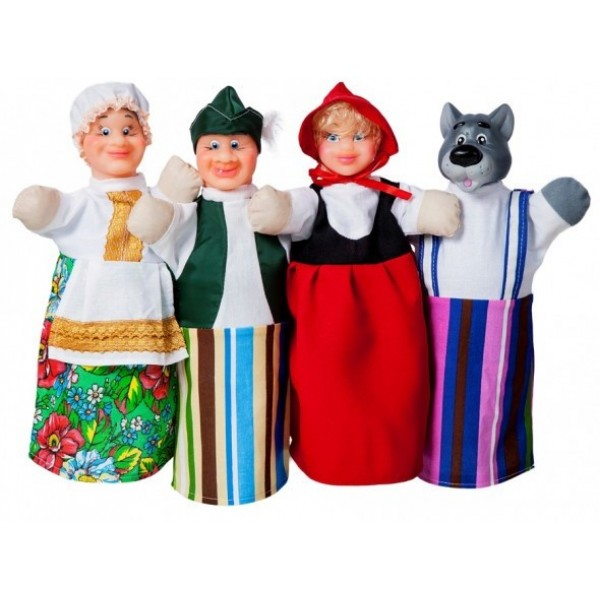 кукольный театр красная шапочка B069