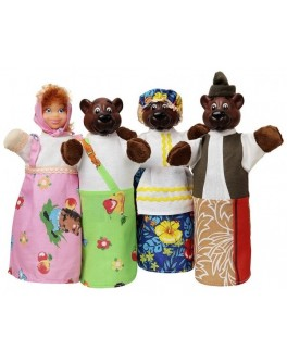 Домашний кукольный театр Сказка Три медведя - ALB В163