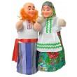 Куклы-рукавички Дед и Бабка - alb B071/072