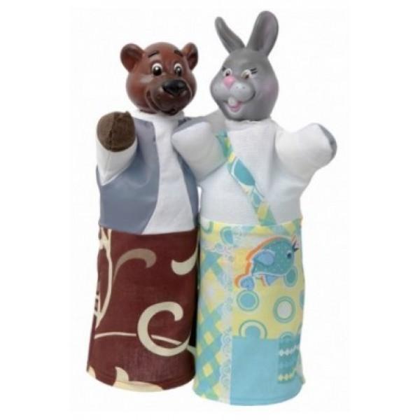 Куклы-рукавички Медведь и Заяц - alb B075/077