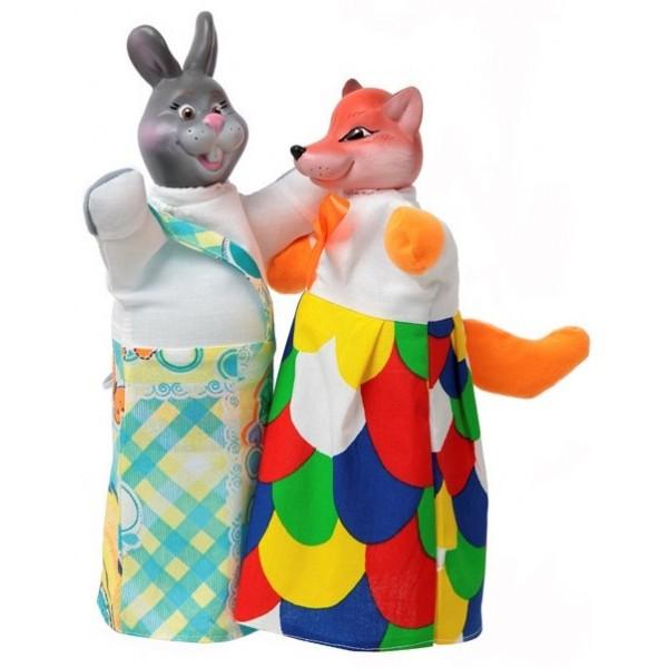 Куклы-рукавички Лиса и Заяц - alb B078/077