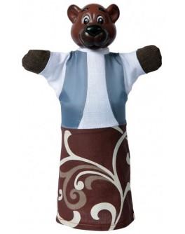 Кукла-рукавичка Медведь - alb B075