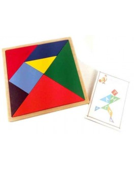 Деревянная игрушка Танграм Розумний Лис - roz 90073