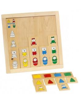 Деревянная игра Классификация. Подбери игрушку Lam Toys - lam 1315