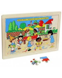 Деревянная игрушка пазл День рождения Lam Toys - lam 1310