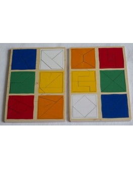 Сложи квадрат 2-й уровень. Методика Никитина Lam Toys - lam 1515-2