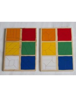 Сложи квадрат 3-й уровень. Методика Никитина Lam Toys - lam 1515-3