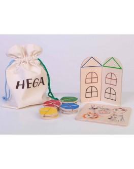 Деревянная игра Мамина сказка Hega - hega 135