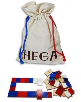 Деревянная игра Сенсорное Домино Hega - hega 118