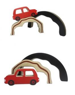 Деревянная игрушка Веселые горки №1 Hega