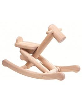 Деревянная игрушка Plan Toys Складная лошадка-качалка (3500) - plant 3500