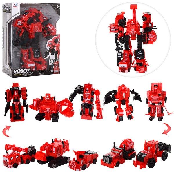 робот-трансформер 5 в 1 7700