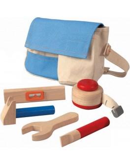 Пояс для деревянных инструментов Plan Toys (3462) - plant 3462