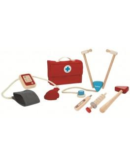 Деревянная игрушка Plan Toys Набор доктора (3451) - plant 3451