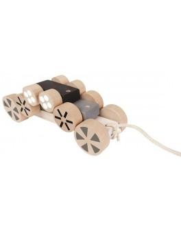 Деревянная игрушка Plan Toys Каталка-пирамидка (5705) - plant 5705
