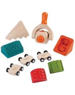 Набор для игры с тестом Plan Toys Построй город (5699)