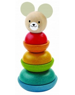 Деревянная игрушка Plan Toys Пирамидка (5681) - plant 5681