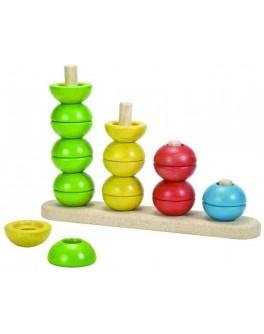 Деревянная игрушка Plan Toys Сортируй и считай (5614) - plant 5614