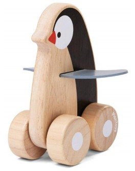 Деревянная игрушка Plan Toys Пингвин на колесах (5444) - plant 5444