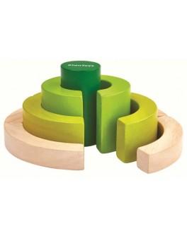 Деревянная игрушка Plan Toys Фигурные блоки (5382)