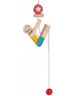 Деревянная игрушка Plan Toys Акробат на канате (5367) - plant 5367