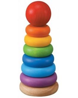 Деревянная игрушка Plan Toys Пирамидка (5124) - plant 5124