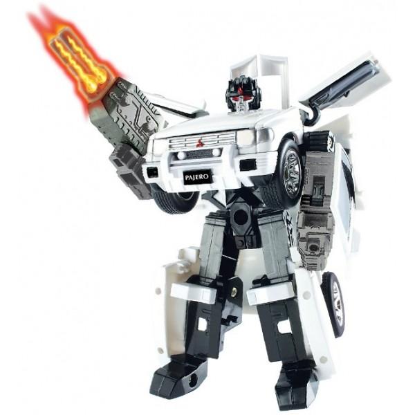 Робот-трансформер - MITSUBISHI PAJERO (1:32) - kds 52020